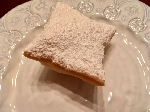 Your beignet will puff up.