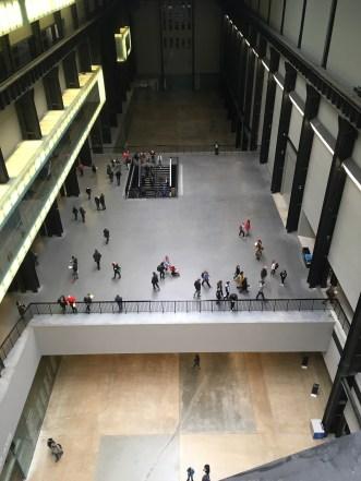 Empty Turbine Hall showing the