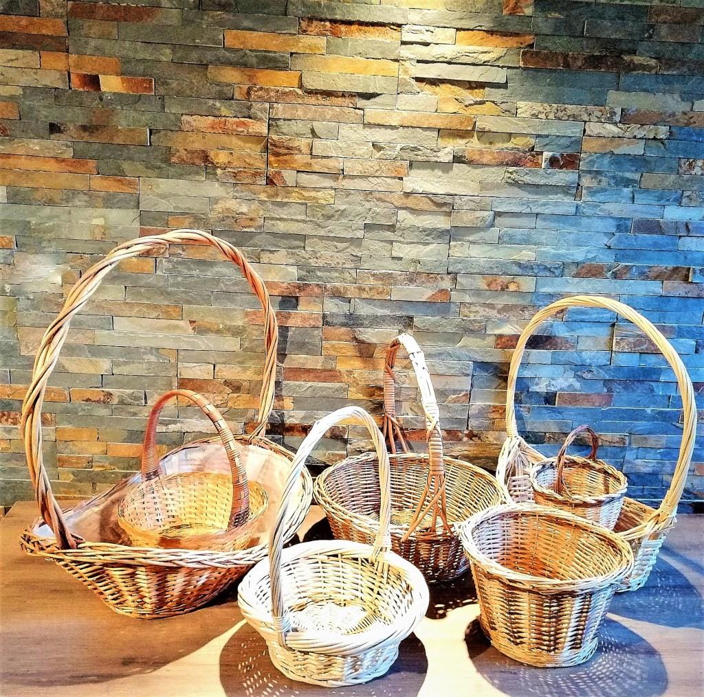 Panière osier Grande et petite cérémonie panière à pain location décorations Tours 37 indre et loire