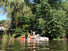 Fun on your own private dock