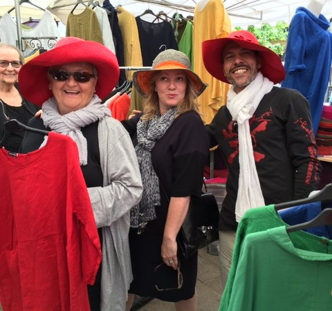 """Aix-en-Provence market — there's a reason it was called """"eye candy"""""""