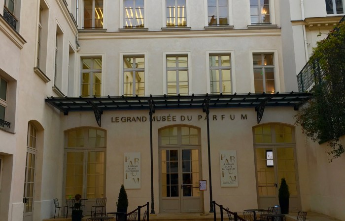 Le Grand Musée du Parfum in Paris