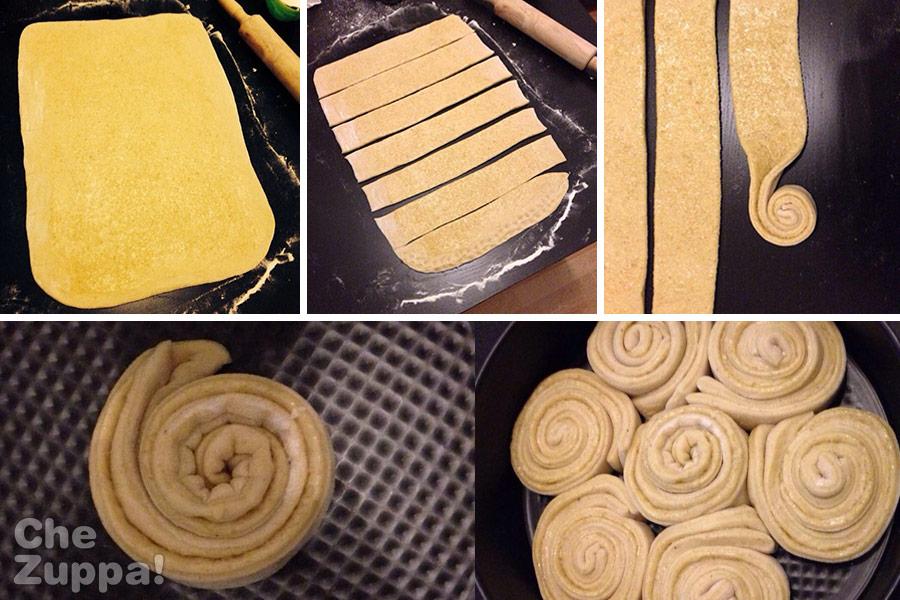 Come preparare la torta delle rose alla cannella