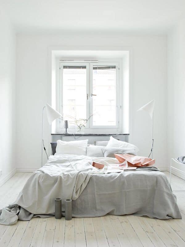 3 - Pinterest : une chambre cocooning pour l'hiver