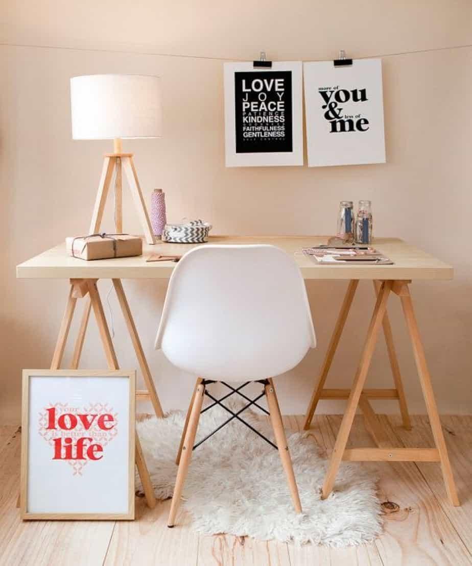 bureaux simple et gain de place - 8 bureaux tendance pour une rentrée réussie