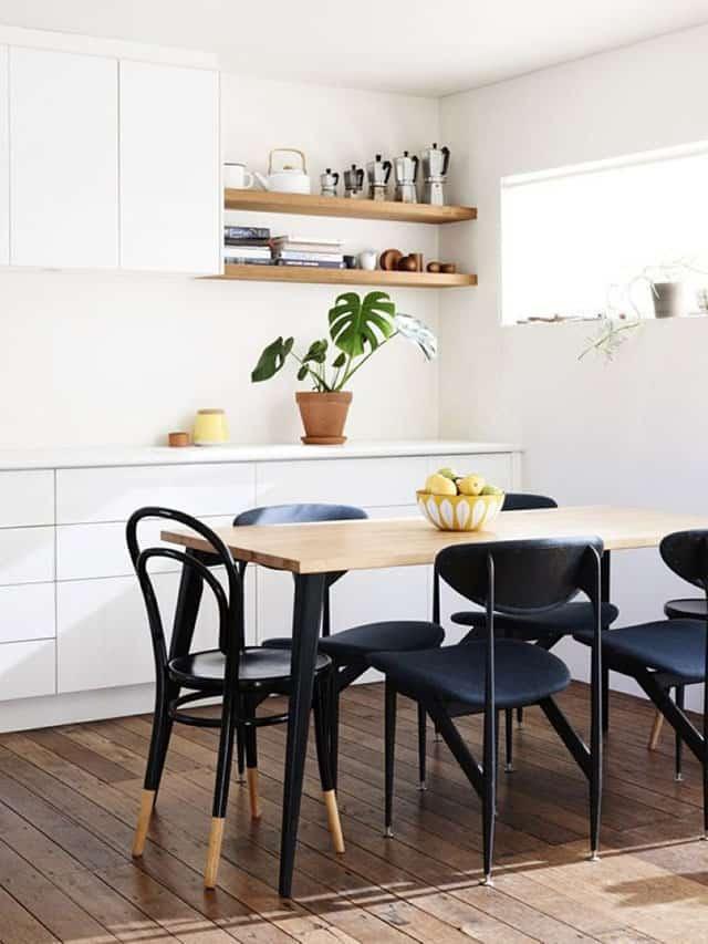 une table scandinave dans une salle a manger - Comment bien réussir sa salle à manger