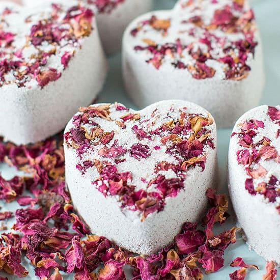 boule de bain saint valentin - 14 DIY pour une Saint-Valentin réussie
