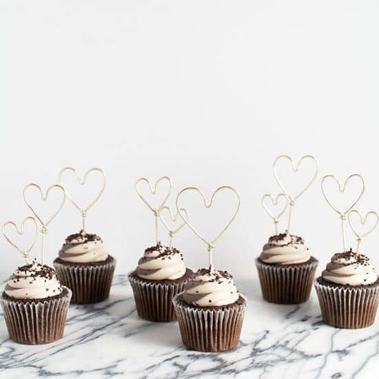 cupcake saint valentin - 14 DIY pour une Saint-Valentin réussie