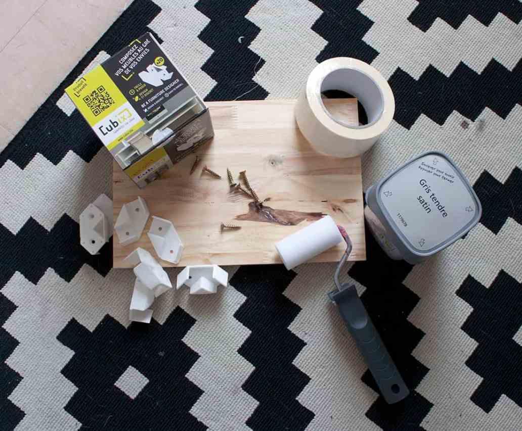 materiel necessaire pour fabriquer un meuble avec cubix - Cubix : un outil pratique pour l'aménagement du bureau