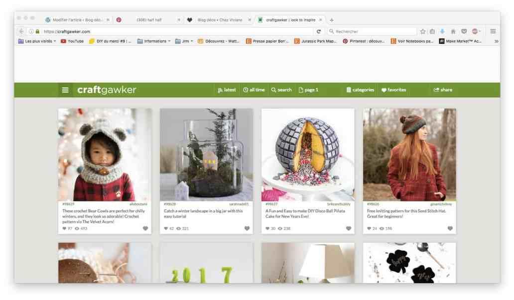craft gawker - Astuce : comment s'organiser pour écrire sur un blog