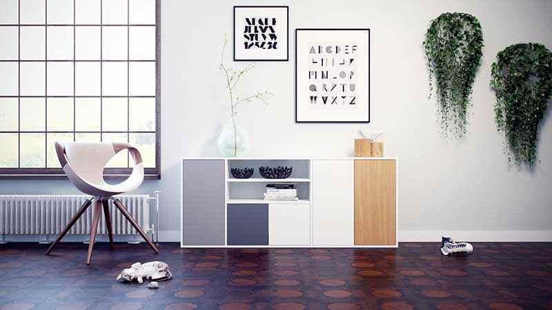 enfilade - J'ai testé pour vous Mycs le créateur de meubles design sur-mesure