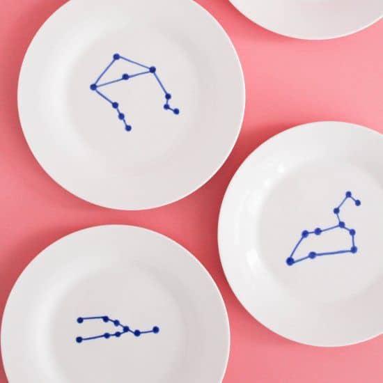 personnaliser de la porcelaine pour un cadeau romantique - Saint Valentin : 11 do it yourself déco pour un cadeau romantique