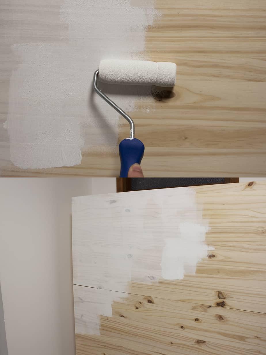 peinture lit escamotable etape - Le lit escamotable, comment le fabriquer soi-même