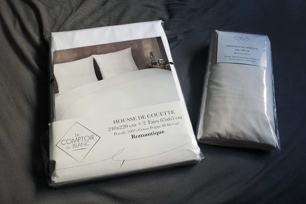 drap et linge de lit blanc - J'ai testé pour vous le linge de lit blanc avec La Compagnie du Blanc