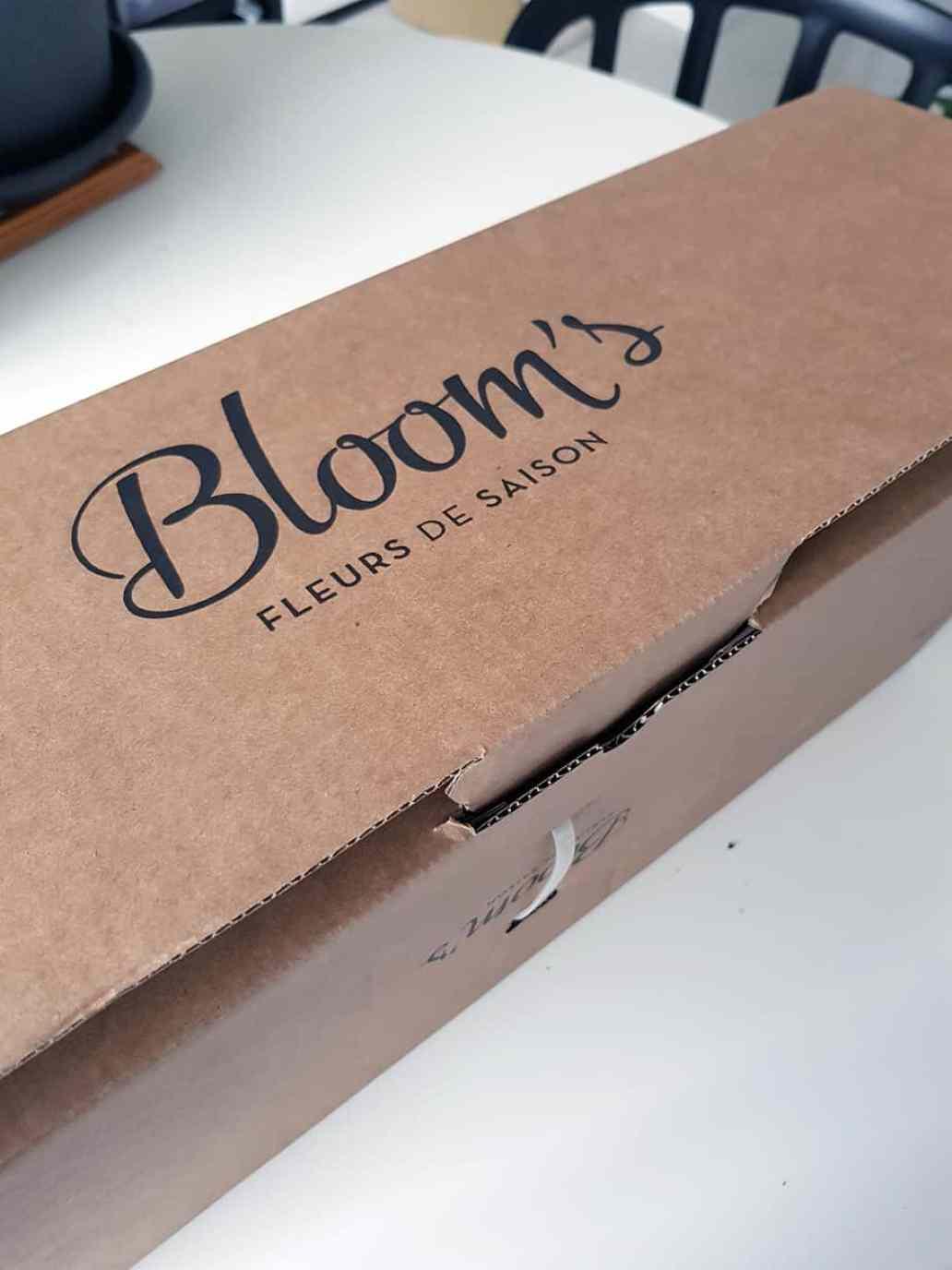 box de fleurs bloom s - Bloom's, une box de fleurs remplie de charme