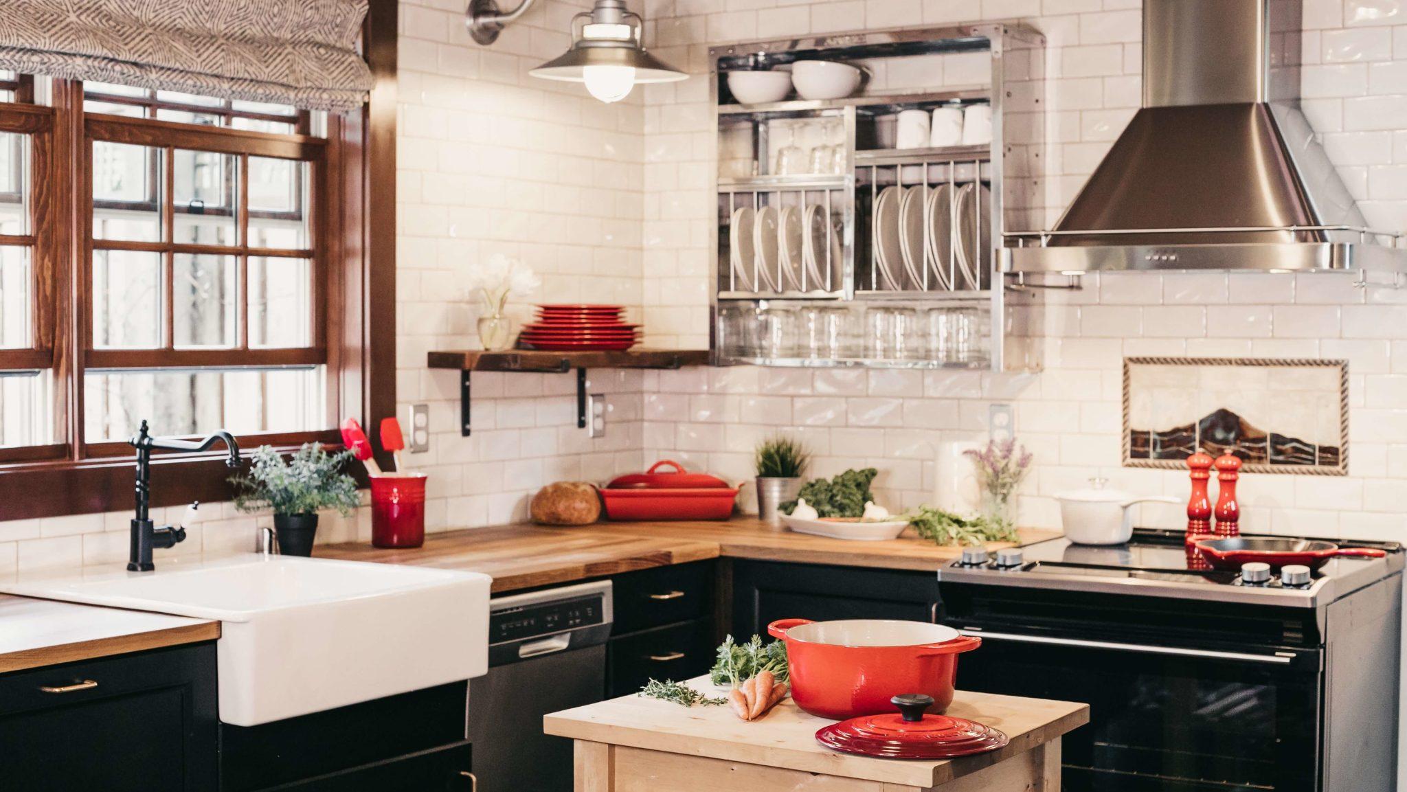 Inspiration déco : la cuisine vintage très tendance et originale