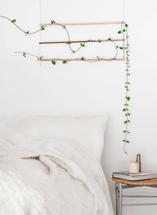 chambre deco plante verte - 9 façons de mettre en valeur la déco de la chambre