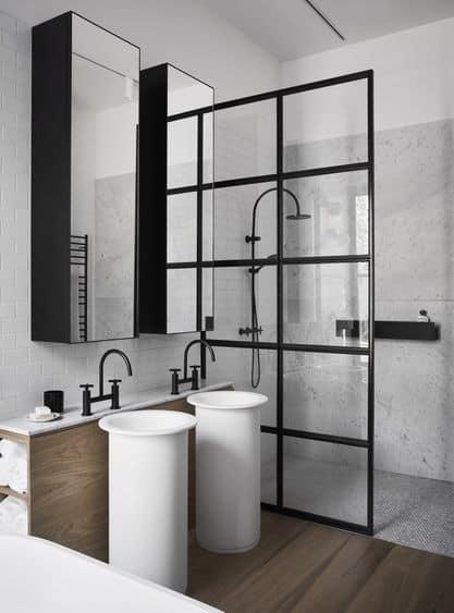 salle de bain verriere interieur - 7 idées déco et aménagement de la salle de bain