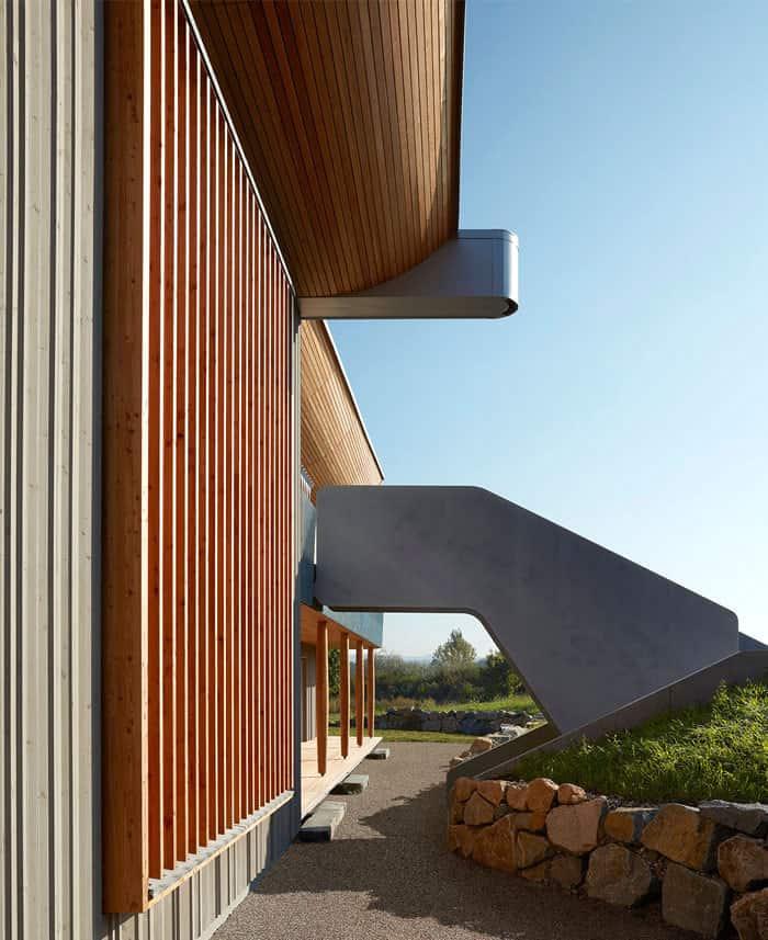 interiorzine studio alfredo haberli haussicht prefabricated home 16 - Tout ce qu'il faut savoir avant de construire une maison écologique