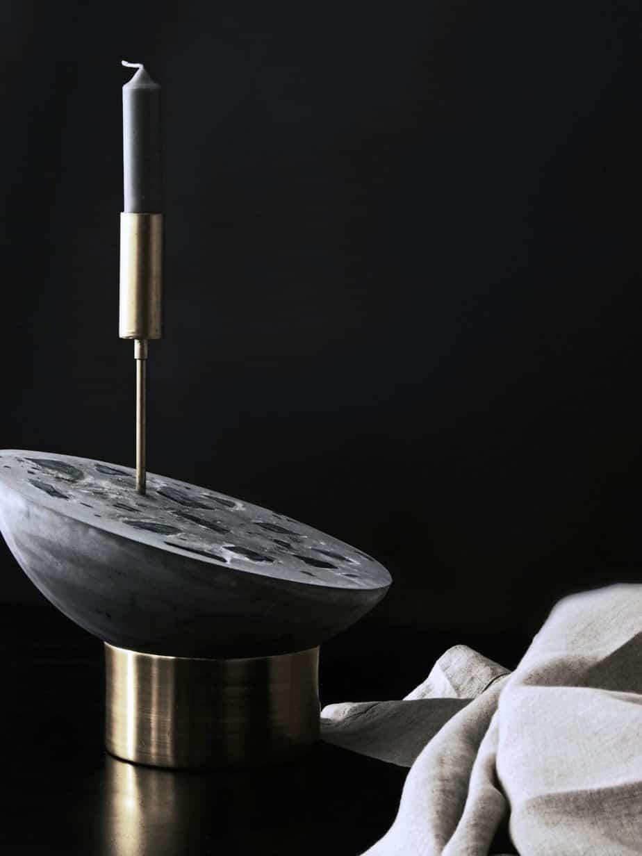 diy bougeoir design salon  - Une sélection de DIY pour le salon, pimper sa déco