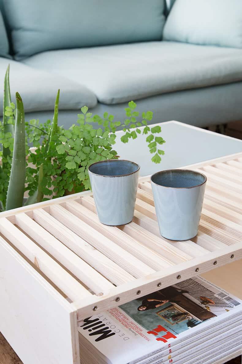 diy pour le salon table basse  - Une sélection de DIY pour le salon, pimper sa déco