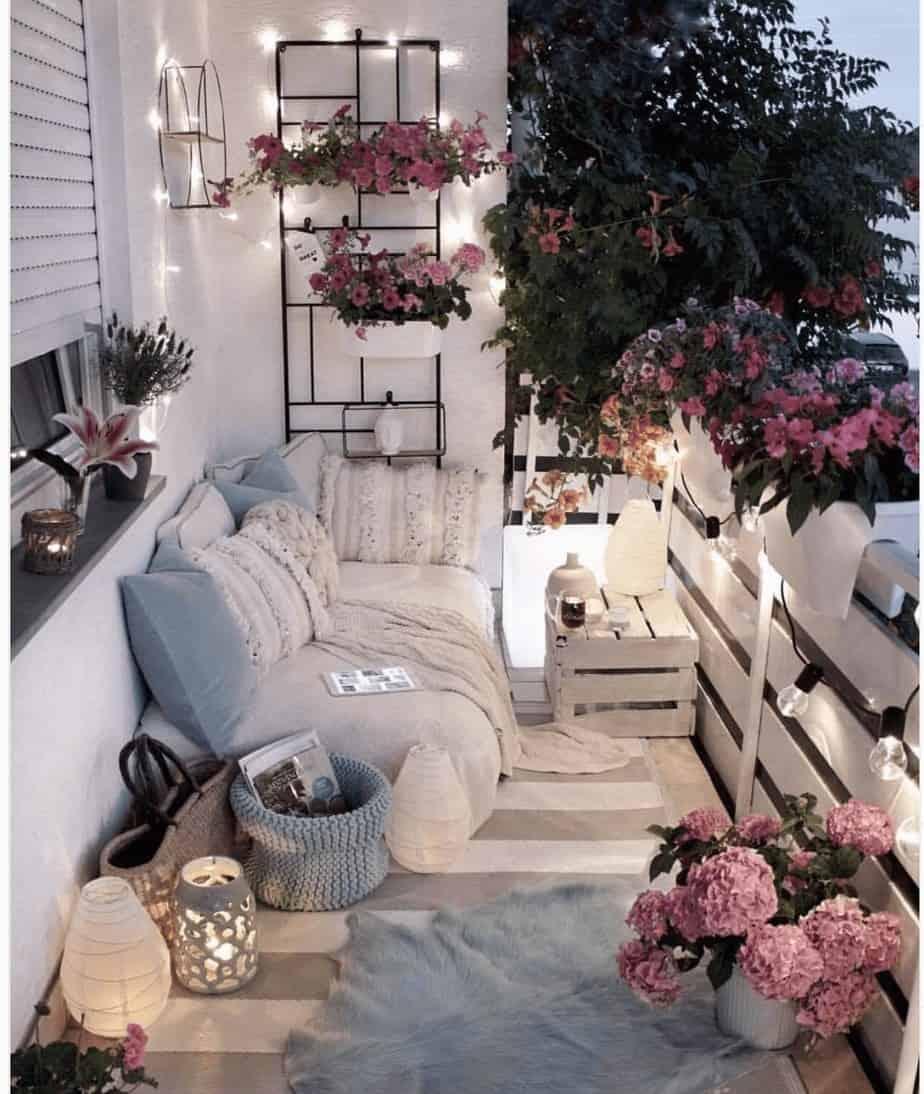 Aménager Son Balcon Avec Des Palettes 8 diy pour décorer le balcon à moindre coût