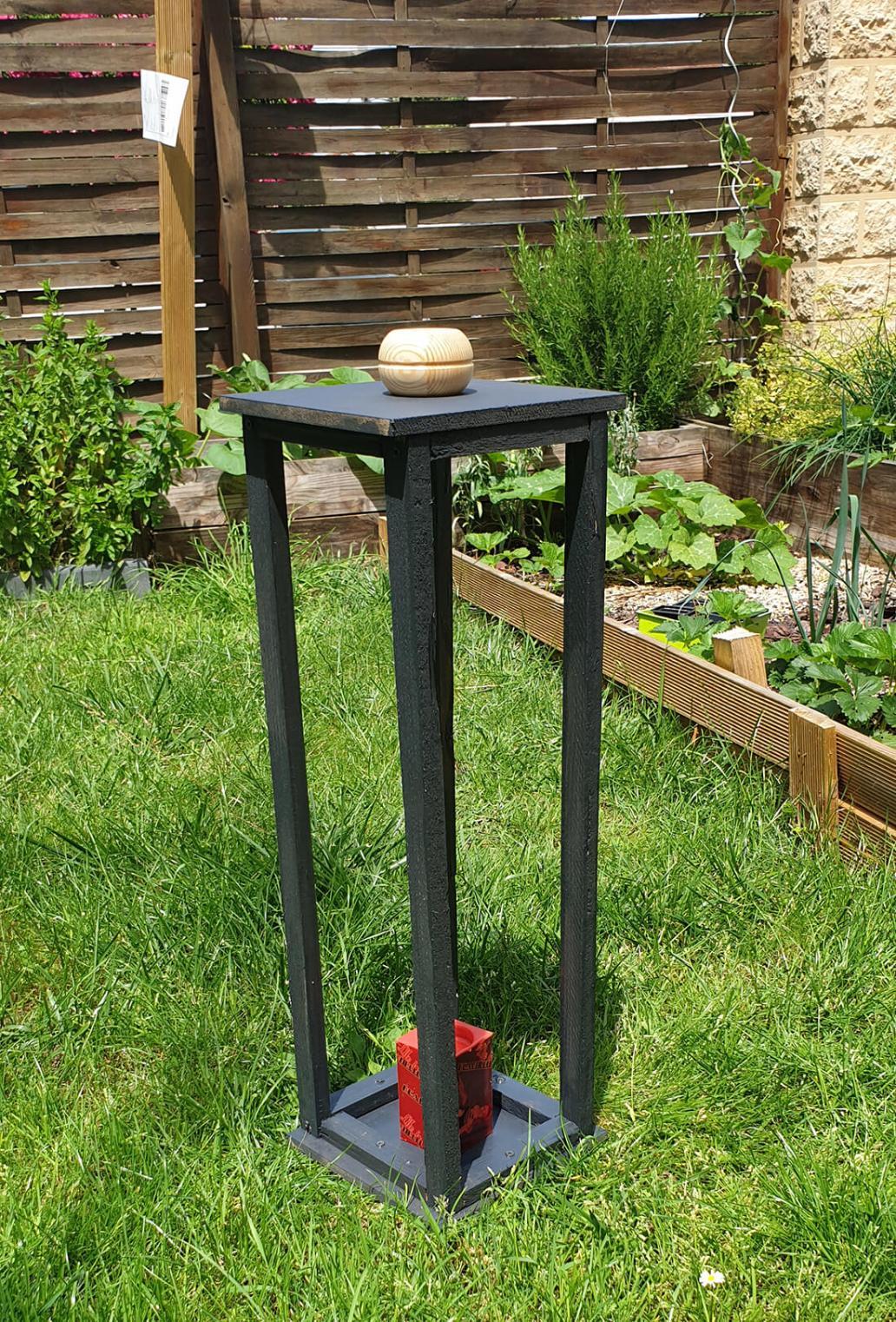 20190623 135955 - Fabriquer une lanterne pour le jardin