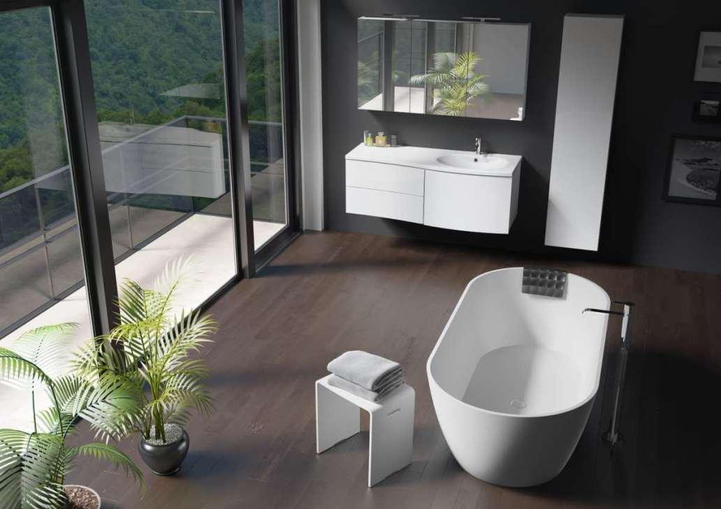 Baignoire lot Riho Bilbao - Quelle baignoire pour une grande salle de bains
