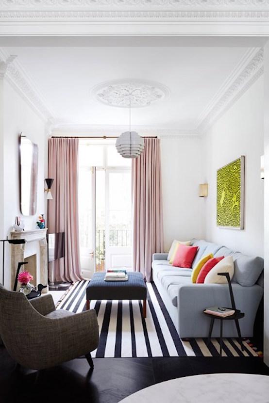 Narrow London Living Room - Comment aménager un séjour tout en longueur ?