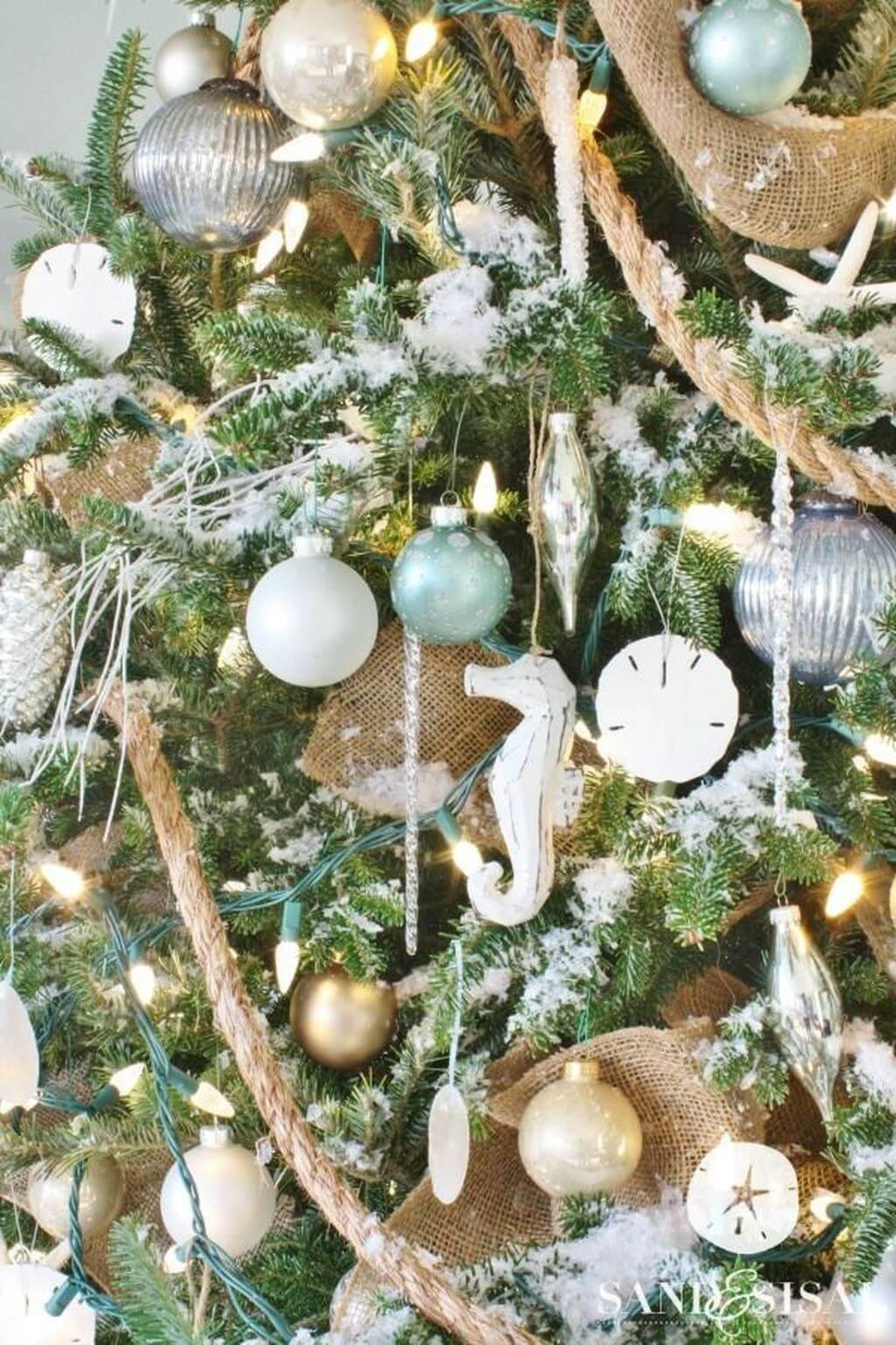 tendance déco pour Noel aquatique - Les 8 tendance déco pour Noël 2019