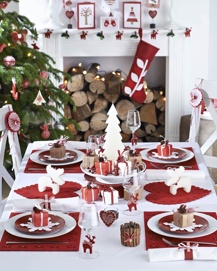une décoration de noel traditionnelle - Les 8 tendances déco Noël annoncées pour 2020