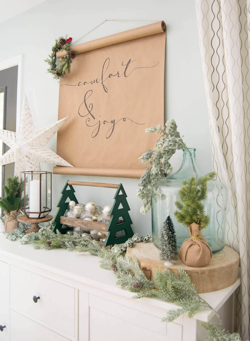 matiere deco pour Noel 2019  - Comment composer sa déco de Noël avec les tendances 2019  ?