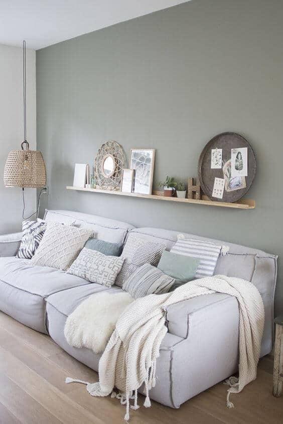 décorer le mur du salon avec de la peinture  - Comment décorer le mur du salon ?