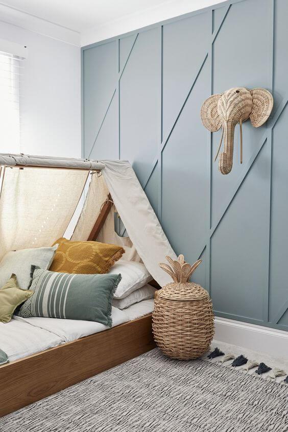 Chambre enfant avec décoration ethnique  - Comment bien choisir le lit de son enfant ?