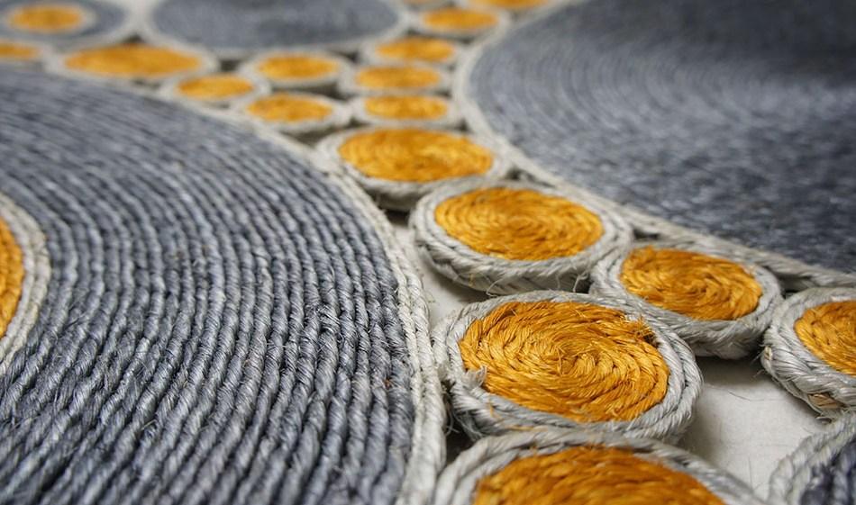 Laurence Tartas tapis en sisal