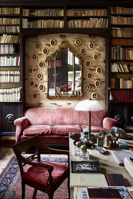un salon vintage dans une alcôve  - Créer un coin détente dans une alcôve !
