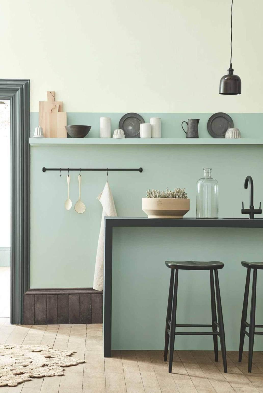 Une cuisine à la décoration délicate et aux teintes douces - 5 façons d'utiliser les couleurs pastel en déco
