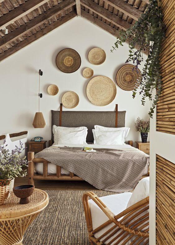 Une grande chambre au look ethique et boheme  - Comment aménager avec goût une grande chambre ?