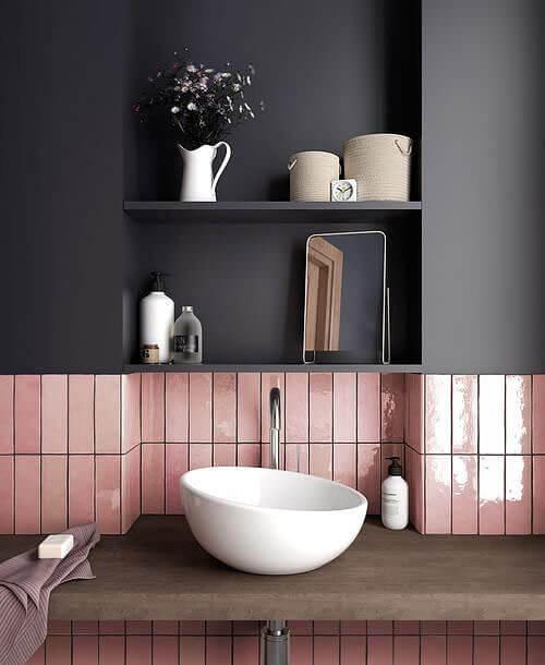 rangement dans la salle de bain sur les murs - Comment optimiser le rangement dans la salle de bain ?