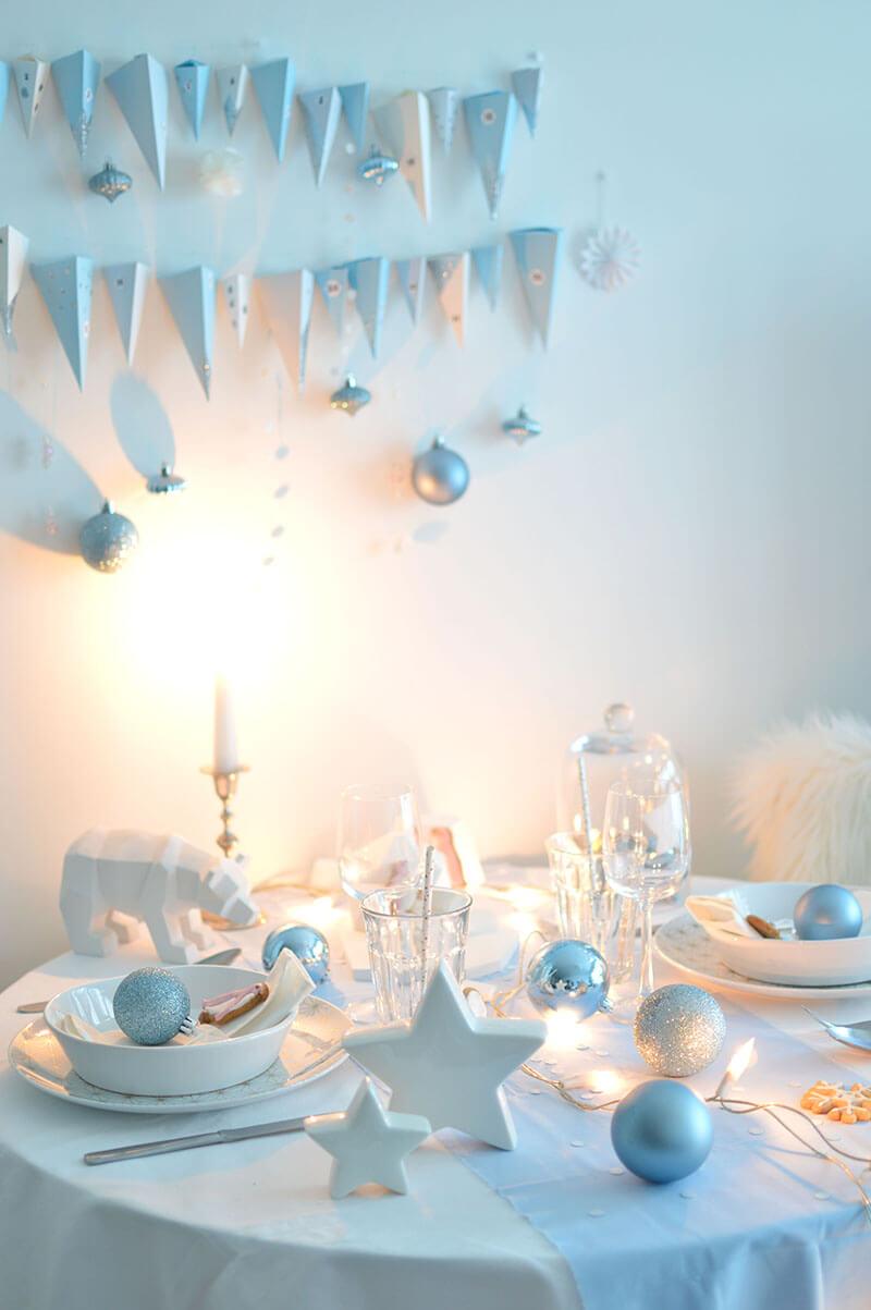 table noel polaire 6 - Les 8 tendances déco Noël annoncées pour 2020