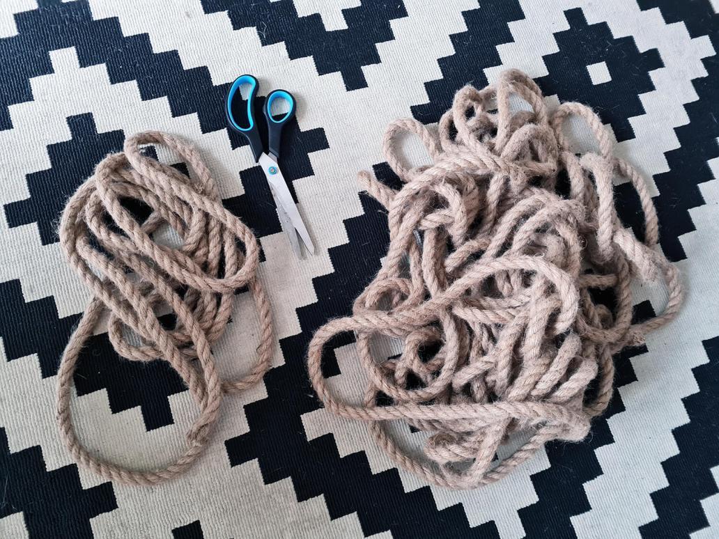20210105 144337 - DIY bohème : fabriquer un tapis mandala avec des cordes