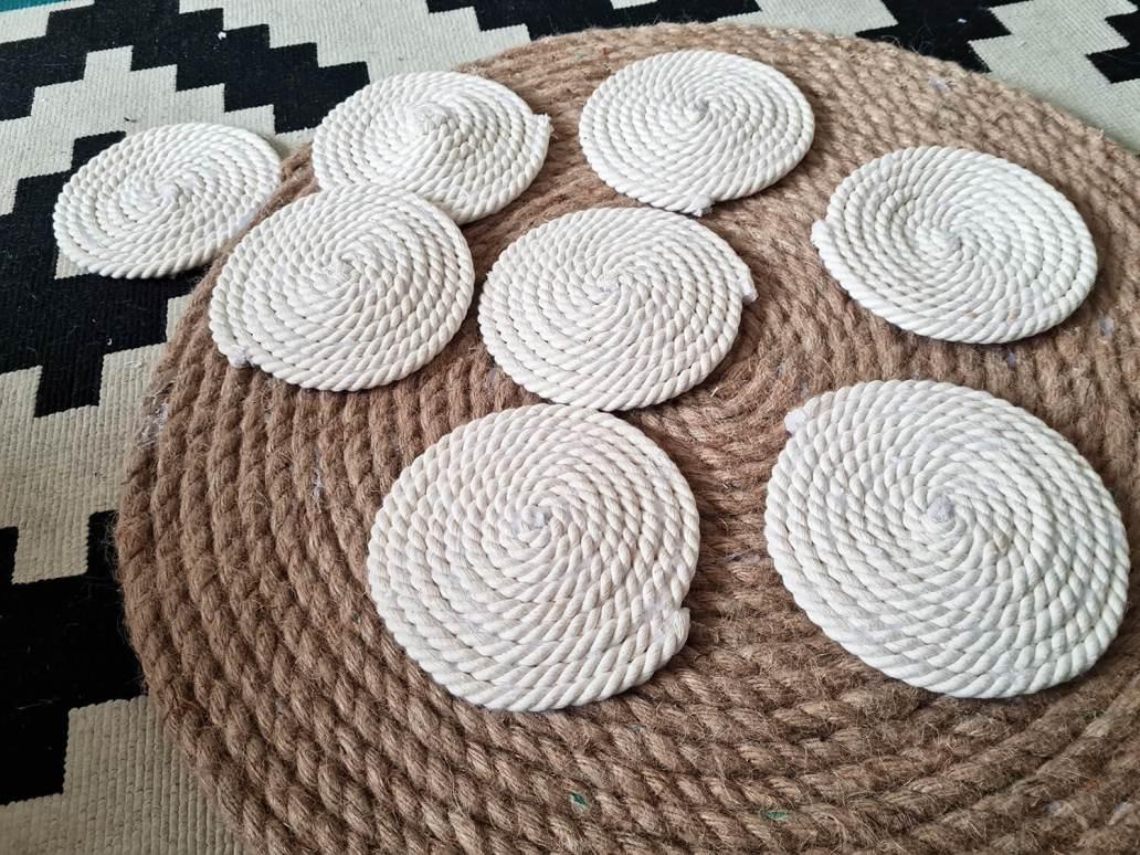20210107 094653 - DIY bohème : fabriquer un tapis mandala avec des cordes