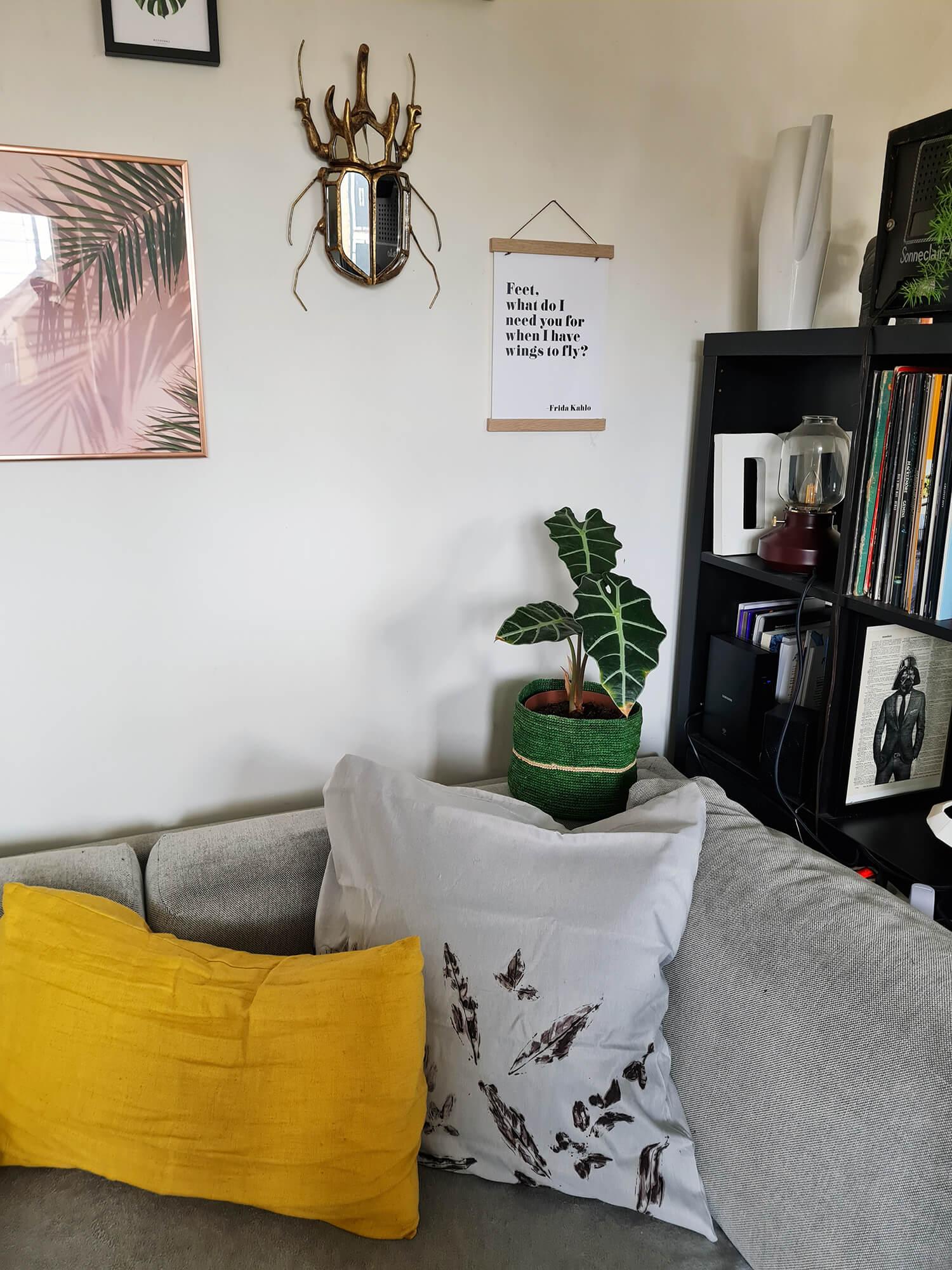 20210128 131134 - DIY : créer un coussin végétal avec des feuilles