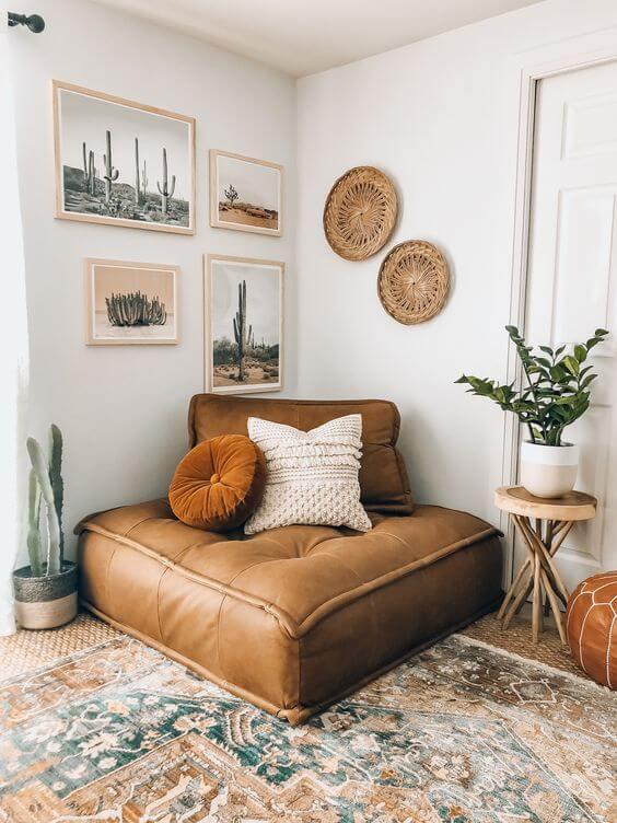 3d23937b872f3446a03730c58f1f68f9 - Inspiration déco : 16 façons d'embellir les murs du salon