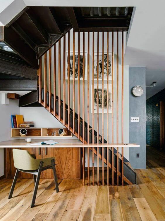 bureau installe dessous dun escalier - Comment décorer et aménager le dessous d'un escalier ?