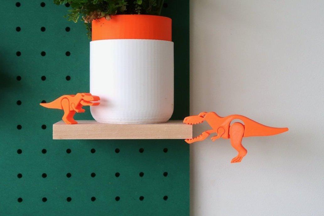 quarkosaurus dinosaure en impression 3d quark incrementing number 976182 1024x1024@2x - Le pegboard : un panneau déco qui nous rend accroc