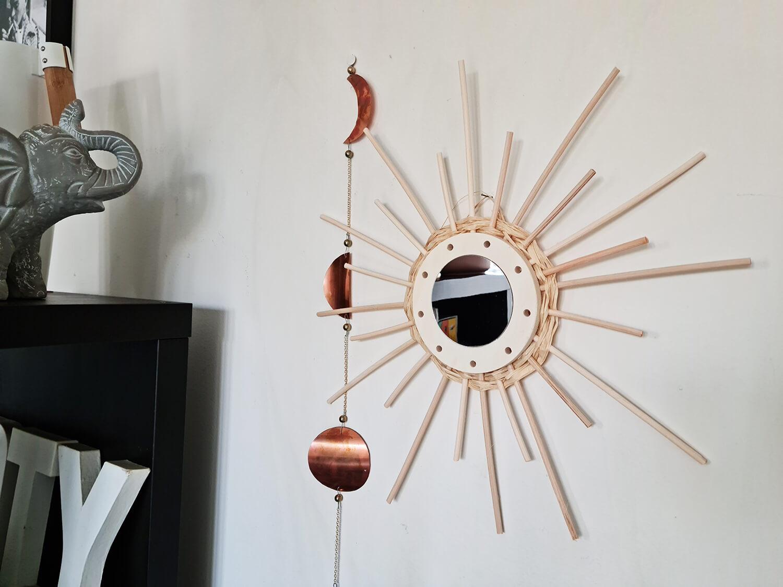 20210319 160636 1 - DIY déco : donner vie à des miroirs en rotin
