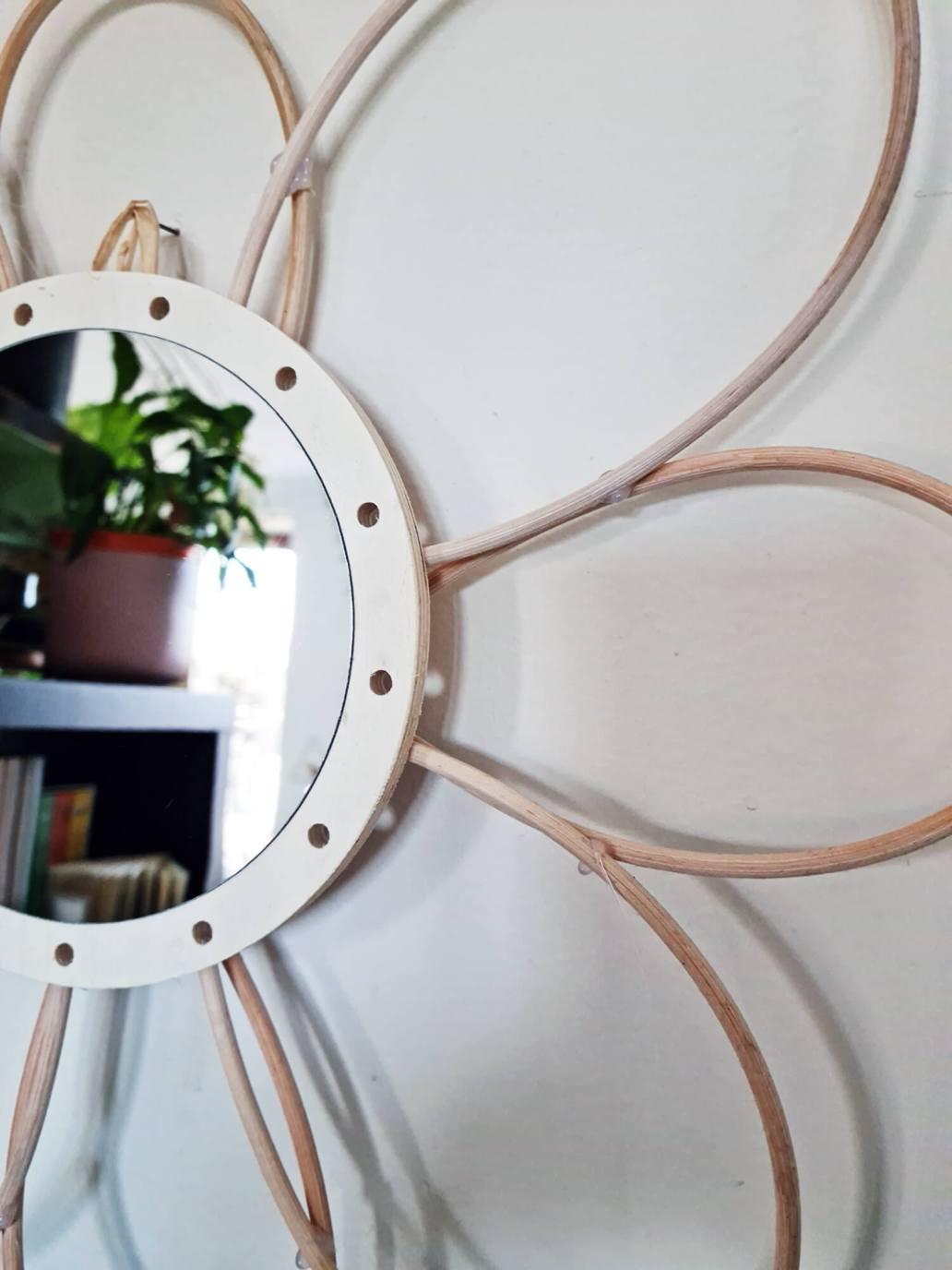 20210319 170938 - DIY déco : donner vie à des miroirs en rotin
