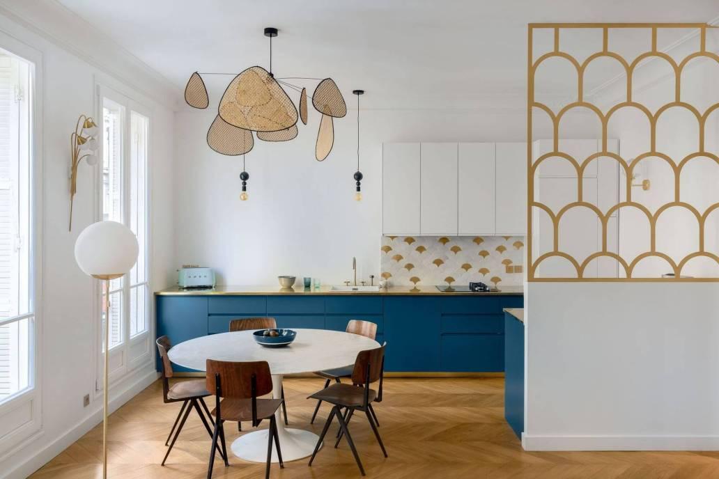 une cuisine dinatoire tout confort deco contemporaine vintage - Conseils rénovation : comment bien choisir sa cuisine