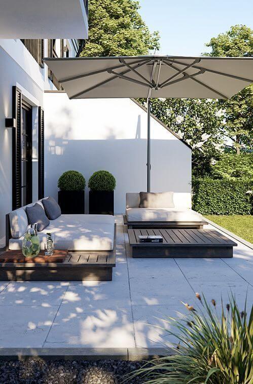 0dc4fb733388f3adefecae412cee82f5 - Inspiration déco : comment décorer la terrasse avec succès ?
